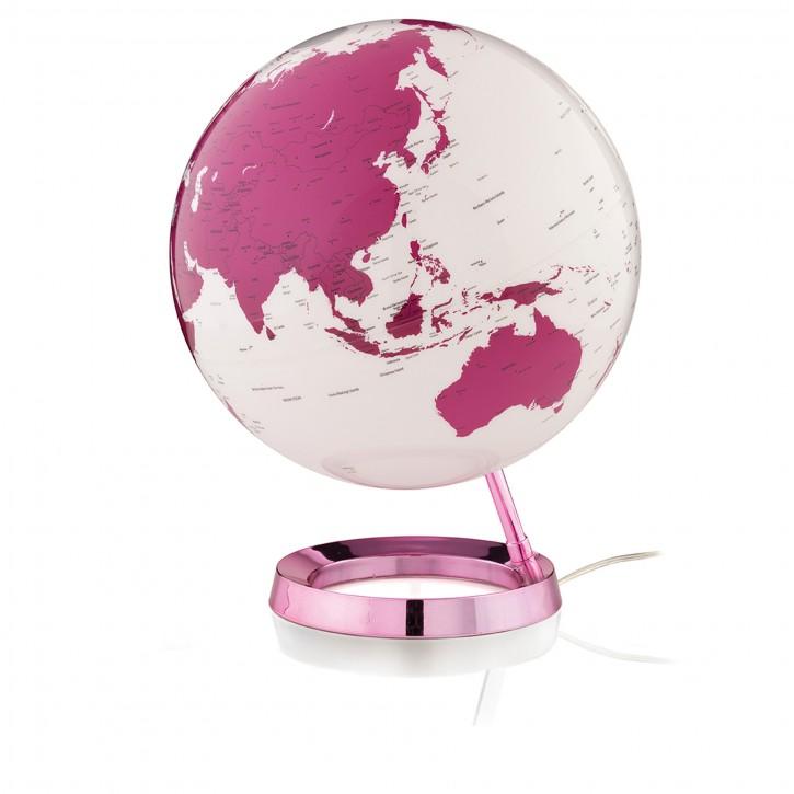 Design-Leuchtglobus Atmosphere Light & Colour Pink