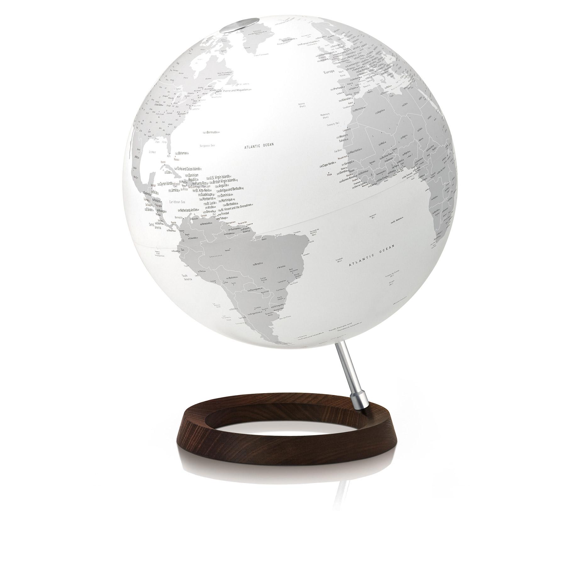 design leuchtglobus mit besonderer optik. Black Bedroom Furniture Sets. Home Design Ideas