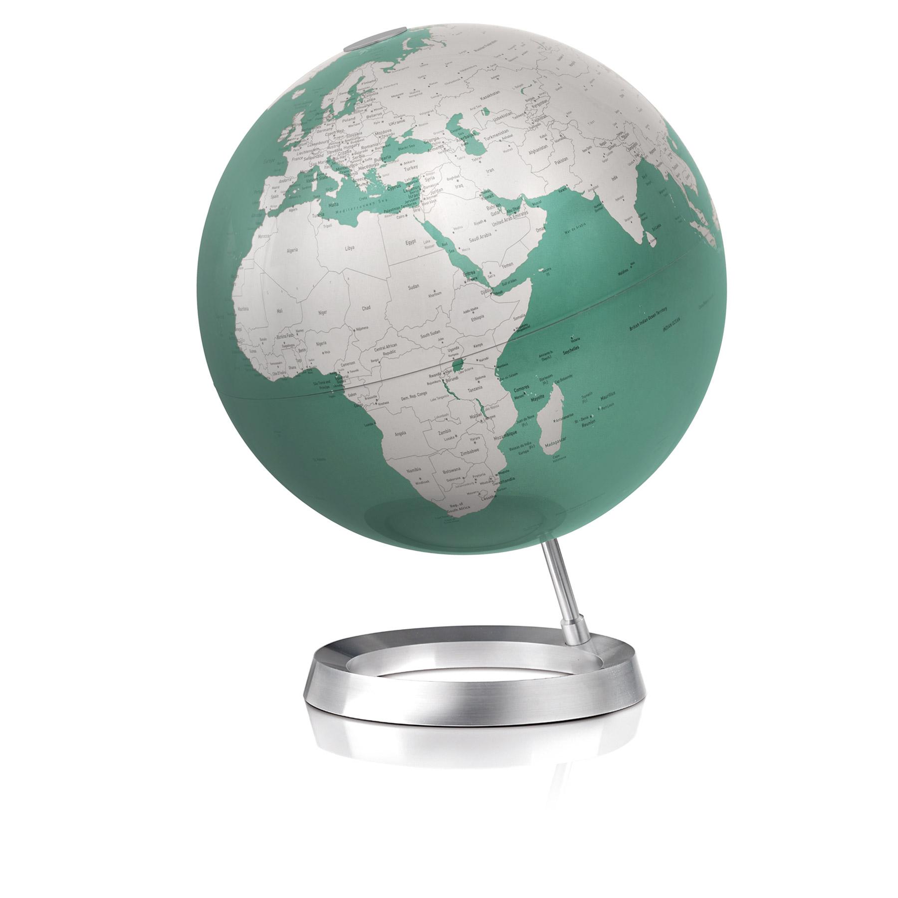 design globus metallic gr n. Black Bedroom Furniture Sets. Home Design Ideas