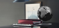 Design-Globus Atmosphere iGlobe Black