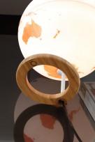 Design-Leuchtglobus Atmosphere Bamboo