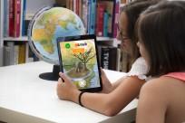 Leuchtglobus Gaia 25 mit Augmented Reality App